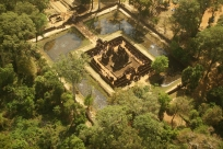 Banteay Srei in a Microlight